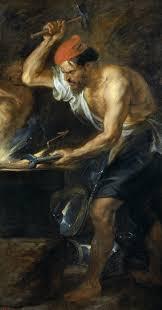 Rubens - Vulcano forgia le folgori per Giove