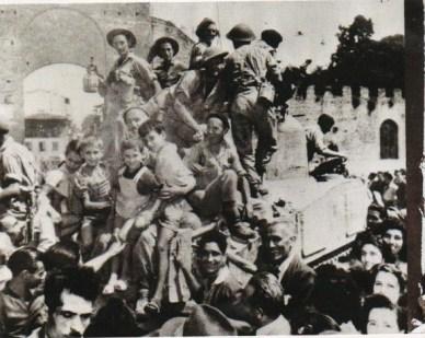 Soldati inglesi a Frenze