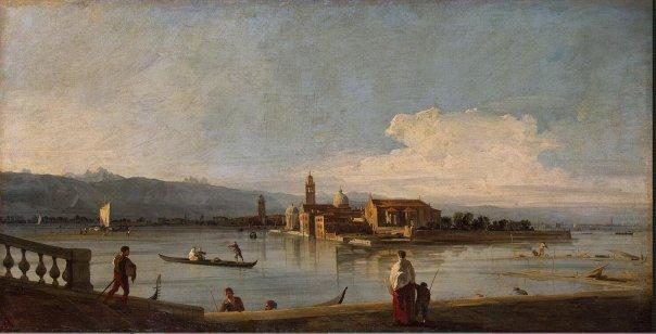 Canaletto - Vista di San Michele, San Cristoforo e Murano dalle Fondamenta Nuova