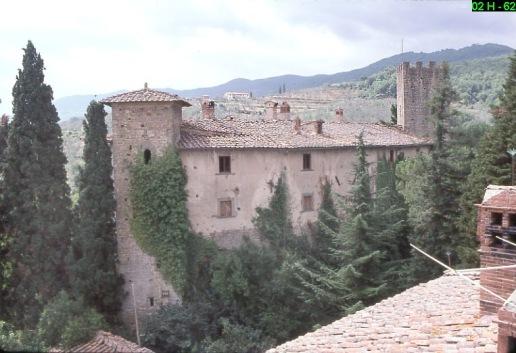 Castello di Pianfranzese, prima della sua demolizione
