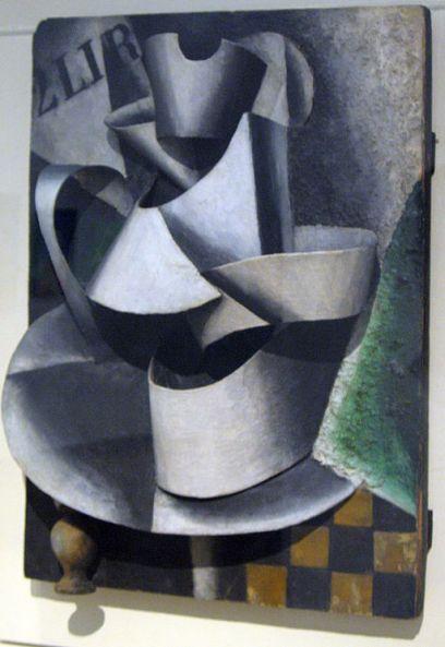 Ljubov' Sergeevna Popova, Caraffa su una tavola (1915), Galleria Tret'jakov, Mosca