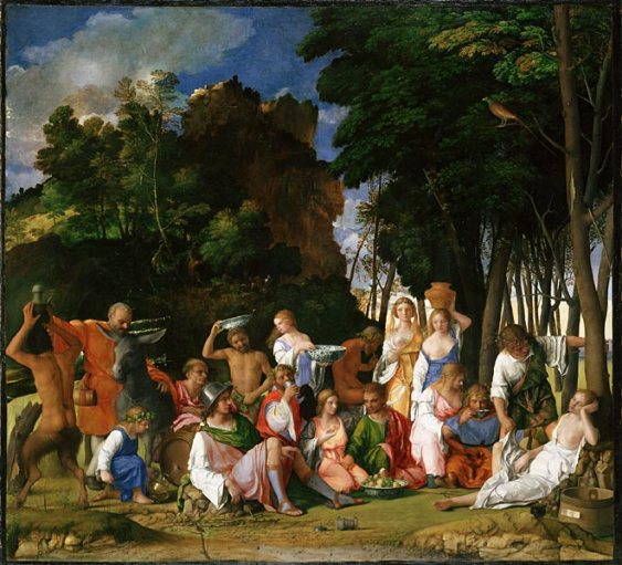 Giovanni Bellini, Festino degli Dei (1514), National Gallery of Art di Washington