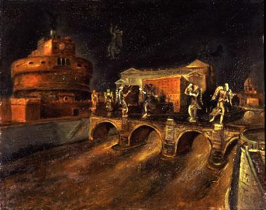 Scipione, Il ponte degli angeli, 1930 - Collezione privata