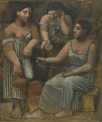 P. Picasso - Tre donne alla fontana (1921) - olio su tela - Museum of Modern Art, New York