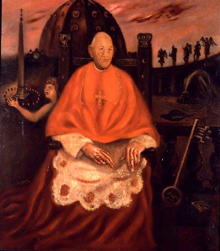Scipione - Ritratto del Cardinal Vannutelli ( il Cardinal Decano), 1930 - Roma, Galleria Comunale d'Arte Moderna e Contemporanea
