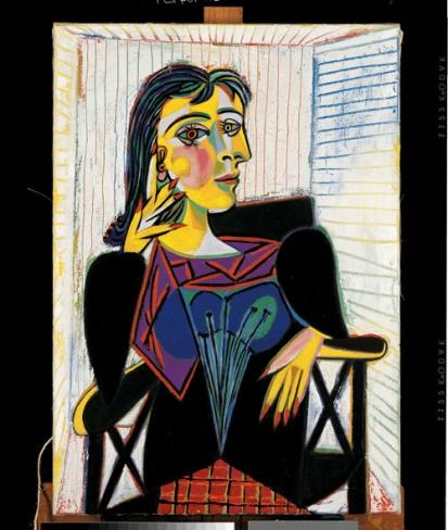 P. Picasso - Ritratto di Dora Maar, 1937 - olio su tela - Musée National Picasso, Parigi