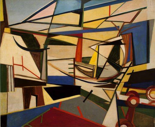 Armando Pizzinato, Cantiere marittimo, 1949-50