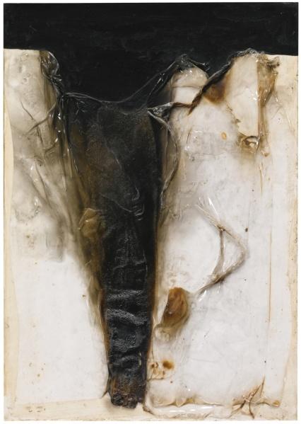 Alberto Burri, Combustione 1964