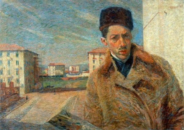 Umberto Boccioni, autoritratto