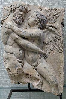 Sileno e Eros