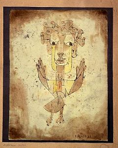 Paul Klee - Angelus Novus, (1920)