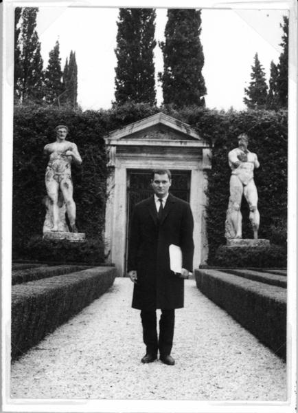 John Ashbery, Villa Madama, Roma, 1963