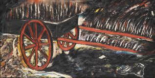 Enzo Cucchi, Carro di fuoco, 1981