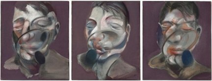 Francis Bacon, Three Studies dor <<<<self Portrait