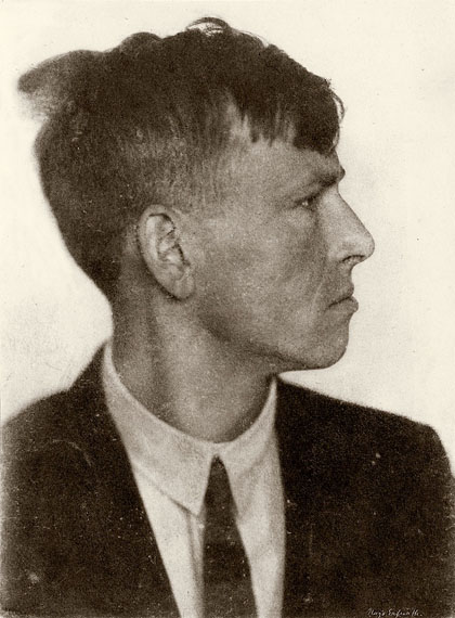Hugo Erfurth, Profilo di Otto Dix, 1920