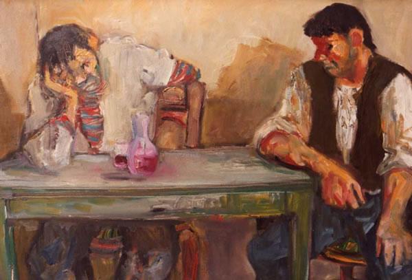 Alberto Chiancone, All'osteria