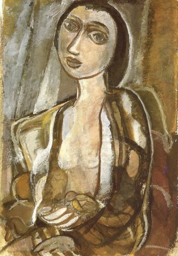 Lasa Segall, Fugura com pássaro, 1955