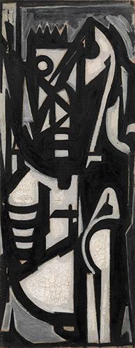 Emilio Vedova, Autoritratto, 1950
