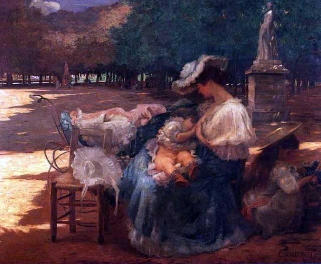 Eliseu Visconti, Maternidade, 1906