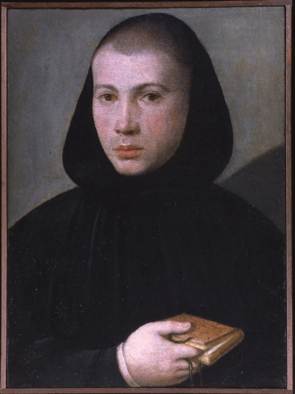 Giovanni Francesco Caroto, Ritratto di giovane monaco benedettino,