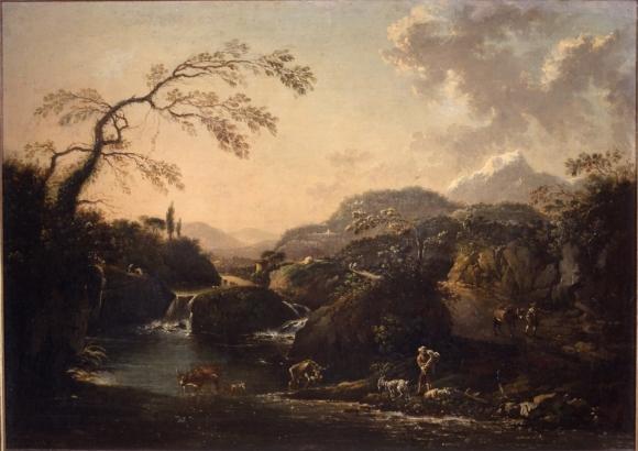 Hans de Jode, Paesaggio