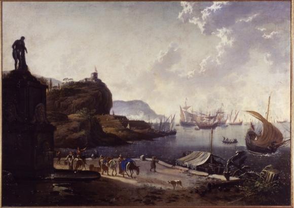 Hans de Jode, Porto di mare