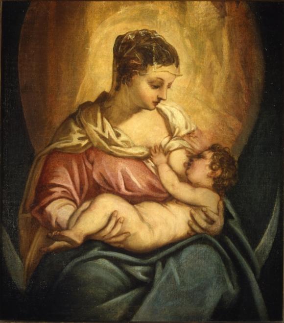 Tintoretto, Madonna allattante