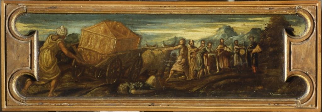 Tintoretto, Trasporto dell'arca dell'alleanza