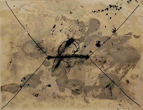Antoni Tapies, L'enveloppe, 1968