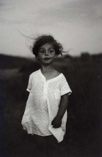 Diane Arbus, Child in a Night Gown, Shelter Island, New York, 1957