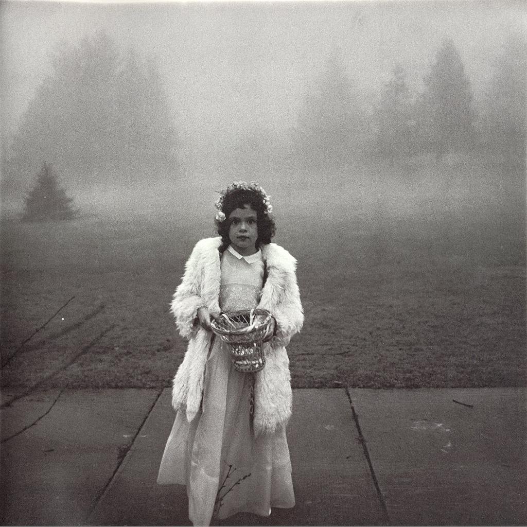 Diane Arbus, Flower Girl, 1964