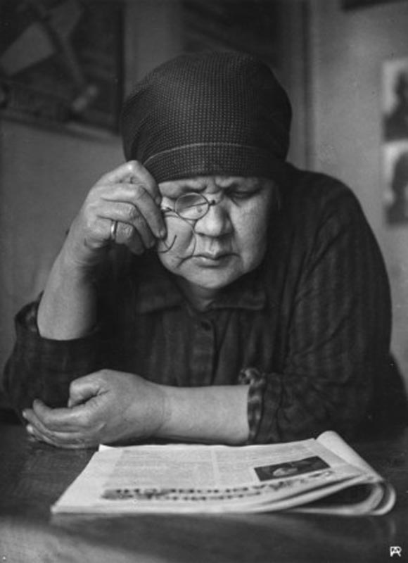 Alexander Rodchenko. Portrait of the Artist's Mother. 1924.