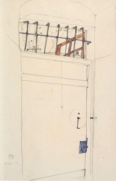 386px-Egon_Schiele_-_Die_Tür_in_das_Offene_-_21-4-1912