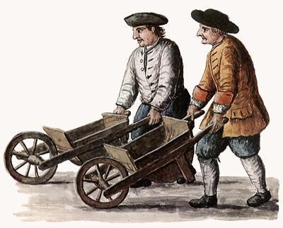 Giovanni Grevembroch, Regata di carriole.