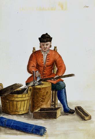 Giovanni Grevembroch, Tagliatore di canne