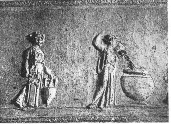 Le Danaidi, I sec. d.C., Basilica sotterranea di Porta Maggiore
