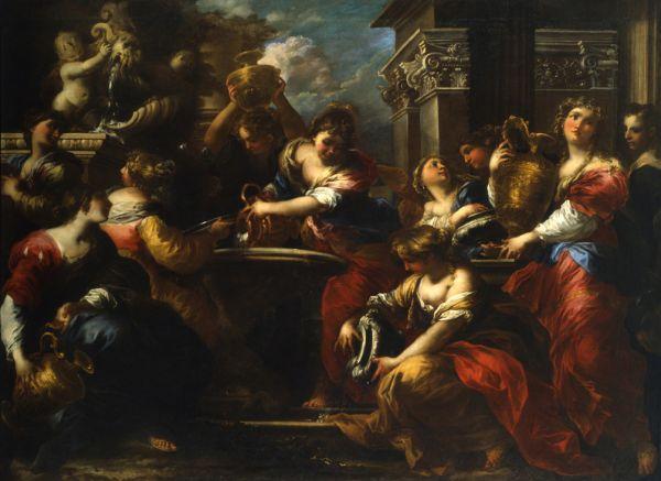 Valerio Castello, Le Danaidi, Palazzo Doria, Genova, olio su tela