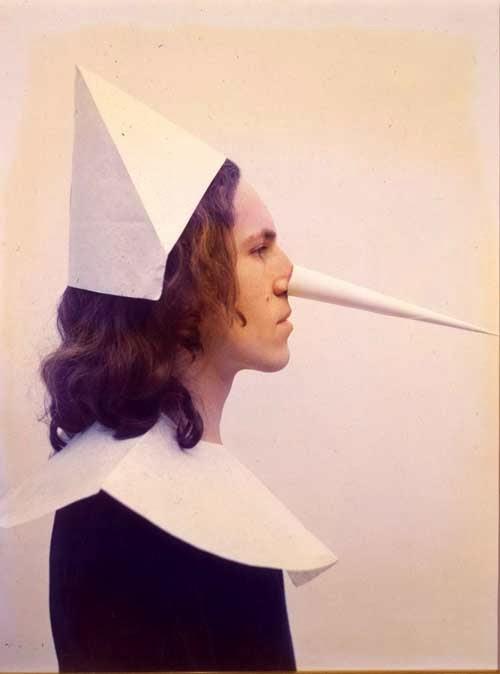 Luigi Ontani, Pinocchio, 1972