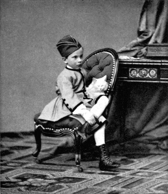 Ludwig Angerer; Crown Prince Rudolf von Oesterreich-Ungarn, Austria, 1863.